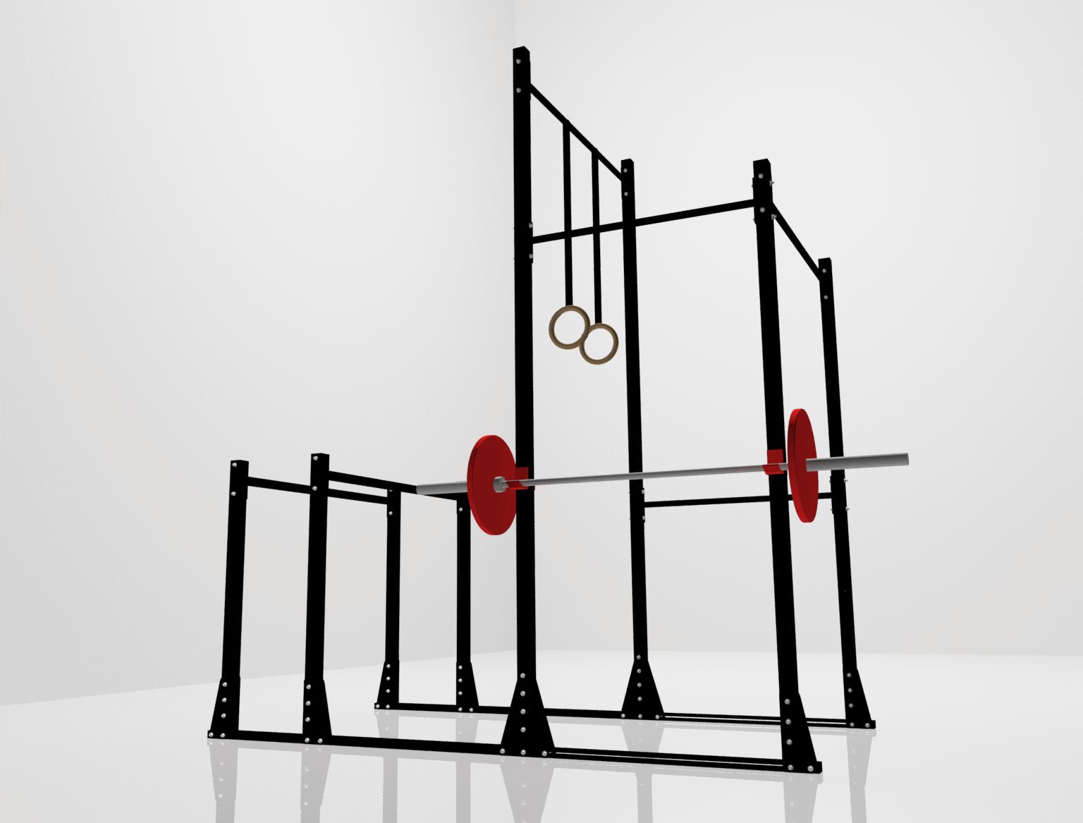 Equipos para gimnasio aparatos de gimnasia y gimnasio en for Aparatos de gimnasio usados