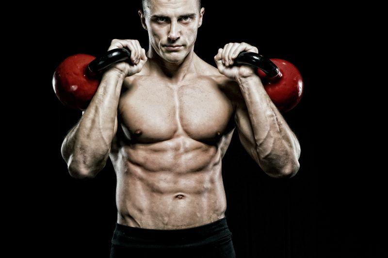 Atleta entrenando